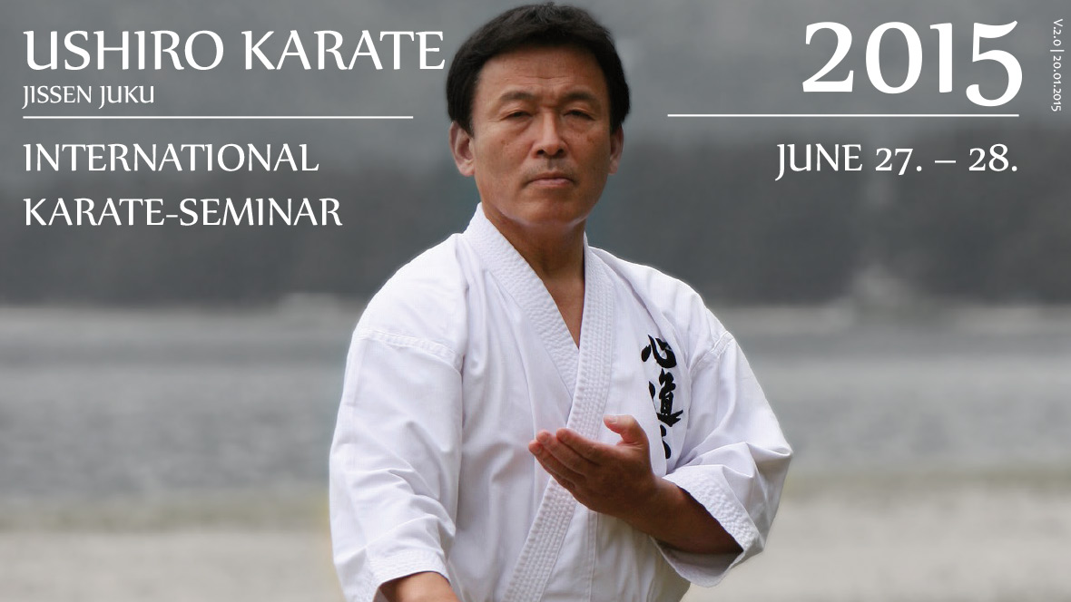 1st. European Ushiro Seminar in Berlin 2015