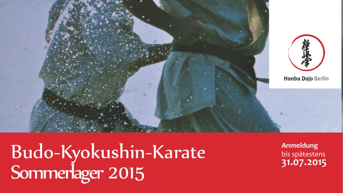 Kyokushin Sommerlager am Werbellinsee 2015
